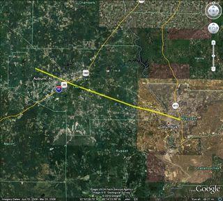 Weather Map Columbus Ga.Columbus S Worst Tornado Kurt S Weather Blog