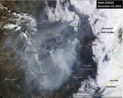 MODIS smoke 111416