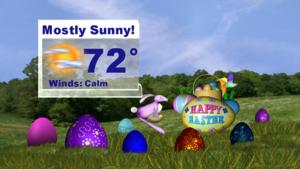 Easter Forecast 2