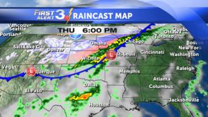Forecast Map 112515