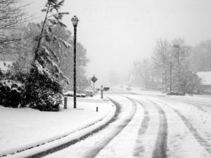 Snow Columbus 3.1.2009